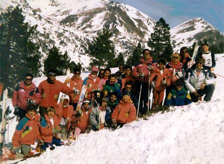 Cursets d'esqui