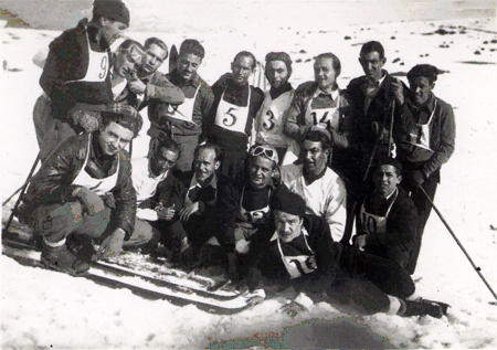 participants cursa ski