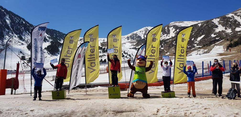 guanyadors XX trofeu marmota U10