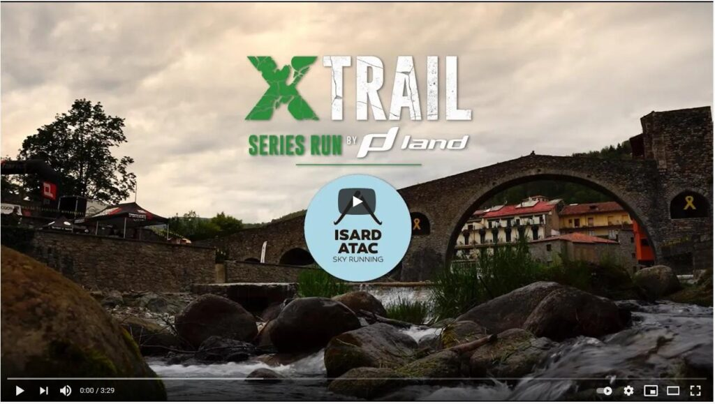 Vídeo de Xtrail Series Isard Atac Run